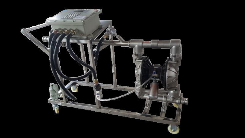 防爆灌装大桶计量车(气动隔膜泵)